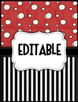Editable Decor Label Set: PIRATE PROUD