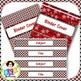 Editable Label Set - Red & Blue Set 2B