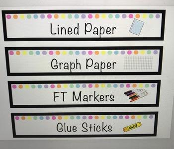 Editable Labels !