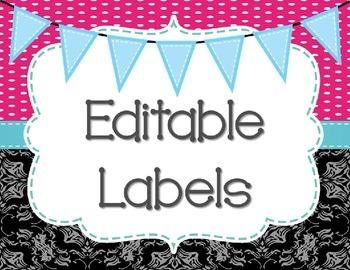 Editable Labels 2