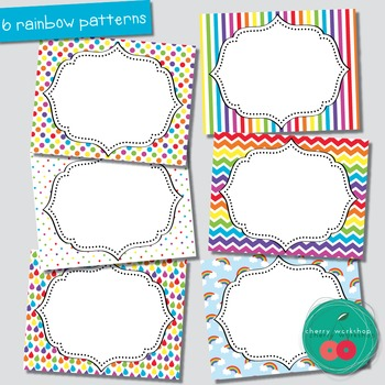 Rainbow Editable Labels