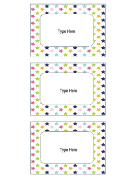 Editable Labels
