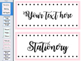 FREE ** Editable Labels