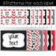 Editable Labels red and black