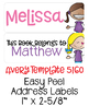 """Editable Labels   Avery 1"""" x 2-5/8"""""""
