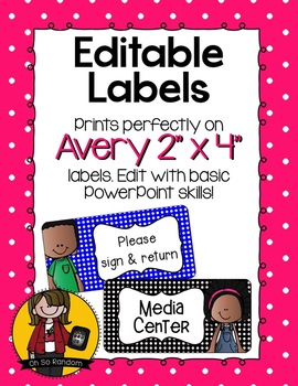 """Editable Labels 