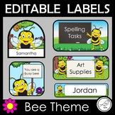 Editable Labels – Bee Theme