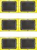 Editable Labels - Bright Chalkboard