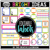 Editable Labels - Bright Ideas
