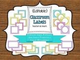 {Editable} Labels - Chevron