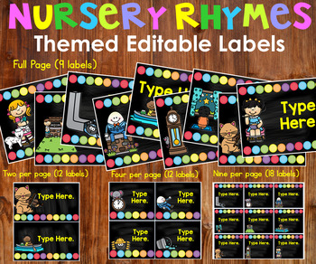 Back to School Bulletin Board Ideas - Classroom Labels Editable