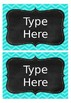 Editable Labels FREEBIE