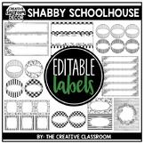 Editable Labels - Farmhouse Decor