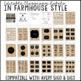 Editable Labels Farmhouse Style