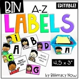 Editable Labels! Kid Theme! Includes 26 Unique Labels!