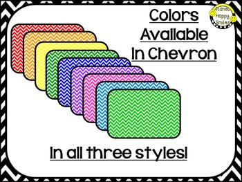 "Chevron Editable Labels ~ Labels for the ""Snack Containers"" from Dollar Tree"