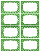 Editable Labels--Polka Dots                        Microso