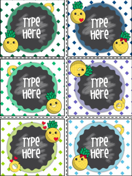 Editable Labels With Pineapple