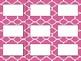 Editable Labels (Quatrefoil Background)