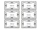 Editable Labels - Rustic White Wood