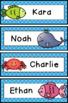 Editable Labels- Sea Animals