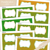 Editable Labels Set 36