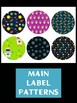 Editable Labels Set : Outer Space