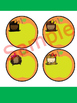 Editable Labels and Name Plates : Rainbow Kids and Apples
