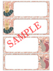 Editable Labels and Name Plates : Woodland Serenity