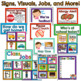 Editable Labels and Signs Mega Pack for Special Education and Early Childhood