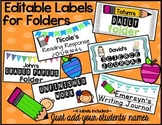 Editable Labels for Folders and Journals