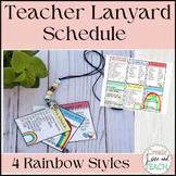Lanyard List Schedule Bus List Class List EDITABLE