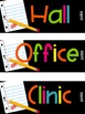 Editable Large and Small Hall Passes