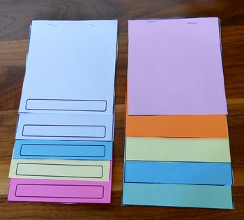 Editable Layered Flip Books for Commercial and Classroom Use