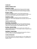 Editable Learning Goals for All Subjects: Grade 4 and Grad