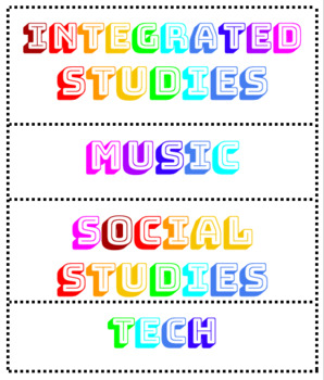 Editable Learning Labels