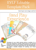 EYLF-Sand Play Editable Pages