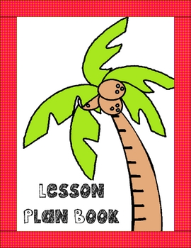 Editable Lesson Plan Book