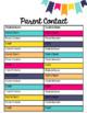 Lesson Plan Book and Teacher Binder by Kinder League *Editable