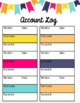Lesson Plan Book and Teacher Binder by Kinder League *Editable
