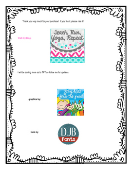 Editable Lesson Plan Pages