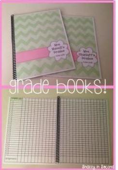 Editable Lesson Plan and Gradebook