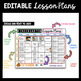 Editable Lesson Plans - Curriculum Map - Standards Charts - All Grades