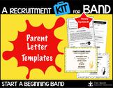 Parent Letter Templates