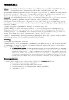 Editable Level 1 Language Syllabus