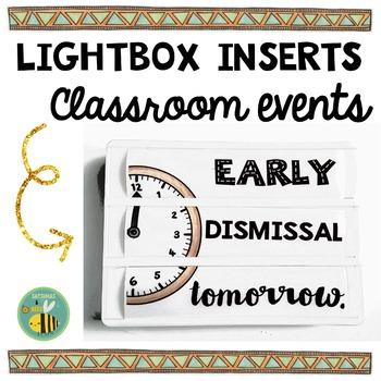 Editable Light box designs
