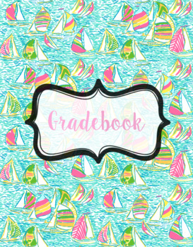 Editable Lilly Pulitzer Binder Covers & Spines