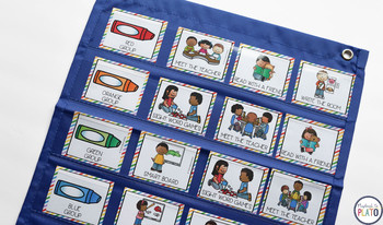 Editable Literacy Center Labels