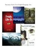 Editable Literature Circle Unit  - English Language Arts