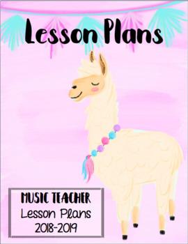 Editable Llama Planner/Binder Covers